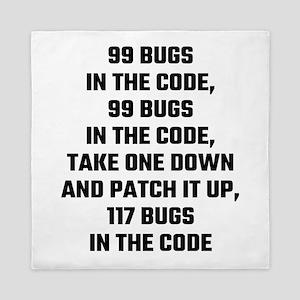 99 Bugs In The Code Queen Duvet