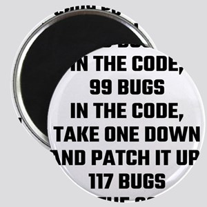 99 Bugs In The Code Magnets