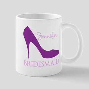 Purple Bridesmaid Mug