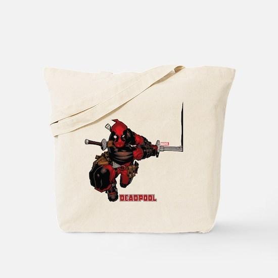 Deadpool Slash Tote Bag