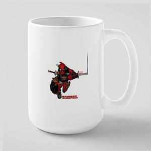 Deadpool Slash Large Mug