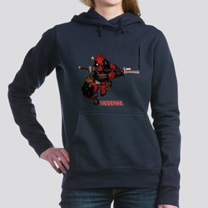 Deadpool Slash Women's Hooded Sweatshirt