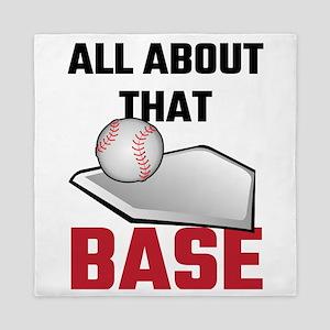 All About That Base Baseball Queen Duvet
