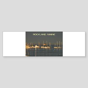 Rockland Harbor, Maine Bumper Sticker