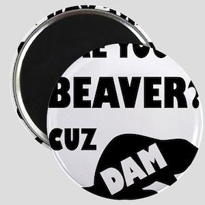 Are You A Beaver? Cuz Dam! Magnets