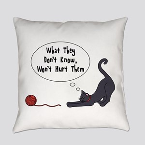 What They Dont Know Everyday Pillow