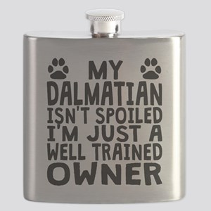 Well Trained Dalmatian Owner Flask