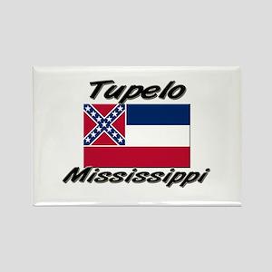 Tupelo Mississippi Rectangle Magnet