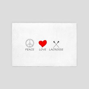 peace love 4' x 6' Rug