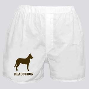 Beauceron (brown) Boxer Shorts