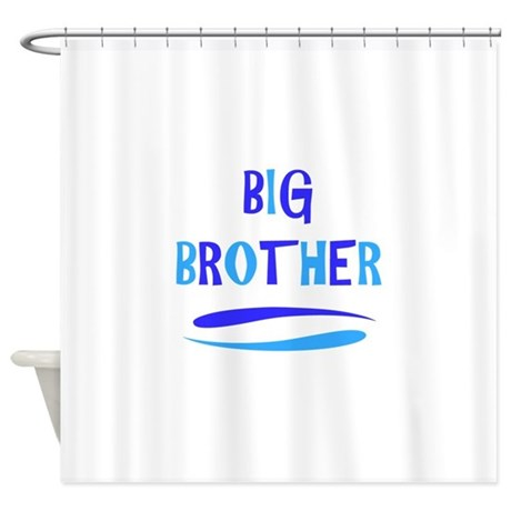 Brother and sister in the shower