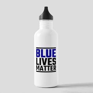 Blue Lives Matter Stainless Water Bottle 1.0L