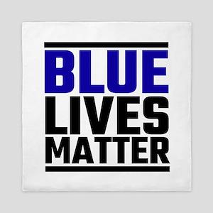 Blue Lives Matter Queen Duvet