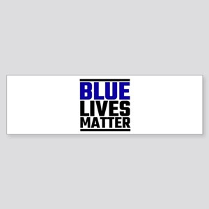 Blue Lives Matter Bumper Sticker