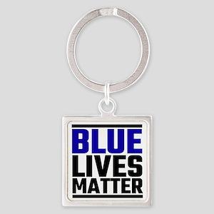 Blue Lives Matter Keychains