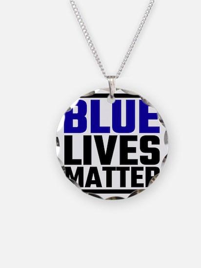 Blue Lives Matter Necklace
