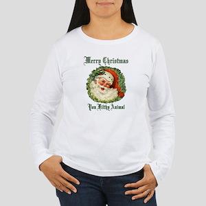 merry christmas ya fil Women's Long Sleeve T-Shirt