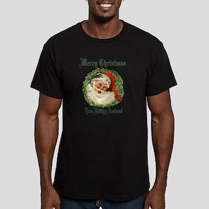 merry christmas ya fil Men's Fitted T-Shirt (dark)