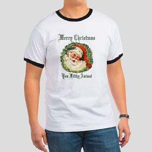 merry christmas ya filthy animal Ringer T