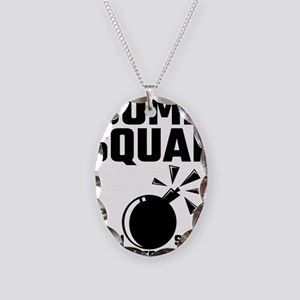 Bomb Squad If You See Us Runni Necklace Oval Charm