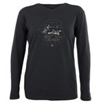 Celtic Victory Chariot Coin Plus Size Long Sleeve