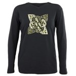celtic tri tips black grey gold black shirt  P