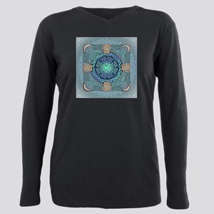 Celtic Eye of the World Plus Size Long Sleeve Tee