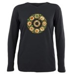 Celtic Wheel of the Year Plus Size Long Sleeve Tee