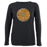 Celtic Crescents Plus Size Long Sleeve Tee