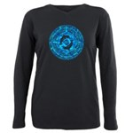 Celtic Dolphins Plus Size Long Sleeve Tee