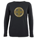 Celtic Compass Plus Size Long Sleeve Tee