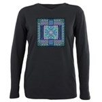 Celtic Atlantis Opal Plus Size Long Sleeve Tee