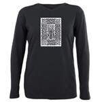 Celtic Knotwork and Bare Branches Plus Size Long S