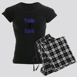 Train Hard Women's Dark Pajamas