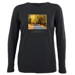 Road to Truth Quote Plus Size Long Sleeve Tee