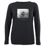 Extend Self Outward Quote Plus Size Long Sleeve Te