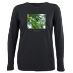 Heaven in Raindrops Quote Plus Size Long Sleeve Te