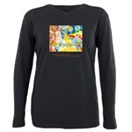 Magical in Mundane Quote Plus Size Long Sleeve Tee