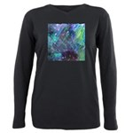 Dimensional Chill Abstract Plus Size Long Sleeve T