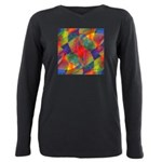 Worlds Within Worlds Abstract Plus Size Long Sleev