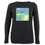 Undersea Luminescence Watercolor Plus Size Long Sl