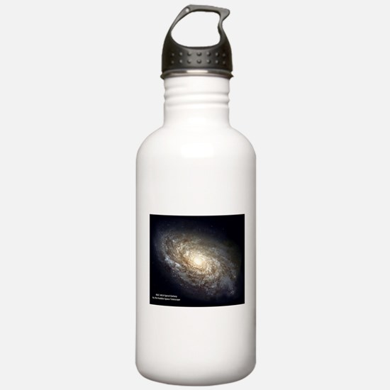 Spiral Galaxy NGC 4414 Water Bottle