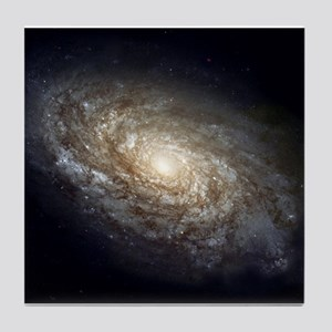 Spiral Galaxy NGC 4414 by the Hubble Tile Coaster