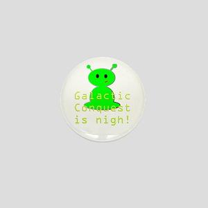 galactic invasion Mini Button