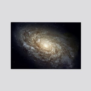 Spiral Galaxy NGC 4414 by the Hubble Space Magnets