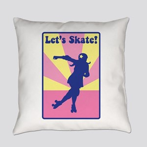 Lets Skate Everyday Pillow