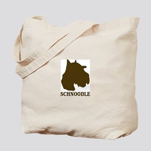 Schnoodle (brown) Tote Bag