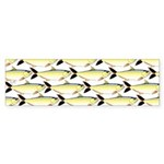 Amazon Pellona fish Pattern Bumper Sticker