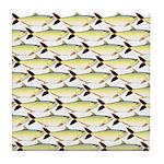 Amazon Pellona fish Pattern Tile Coaster