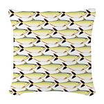 Amazon Pellona fish Pattern Woven Throw Pillow